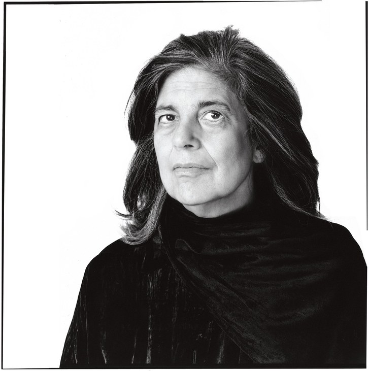 Susan Sontag portrait by Richard Avedon
