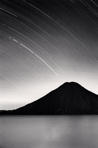 Toliman Volcano Lake Atitlane Michael Kenna