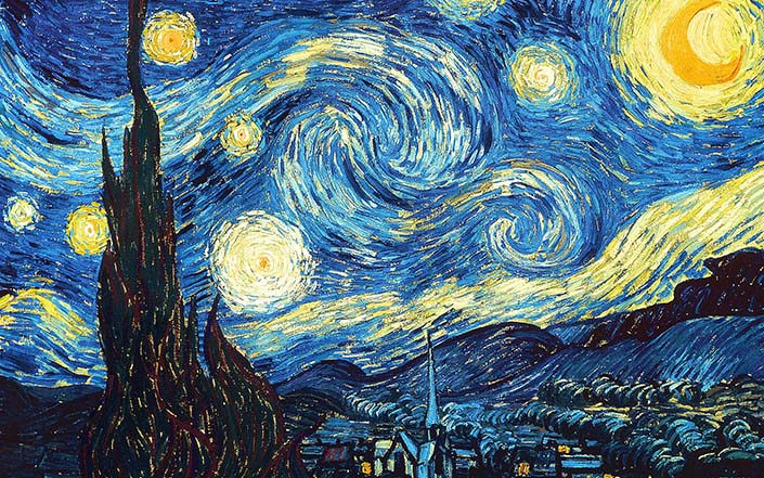 Vincent-van-Gogh-Starry-Night-1889