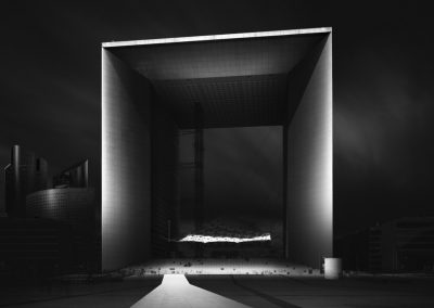 Visual Acoustics II - Silence and Light - La Grande Arche de la Defense