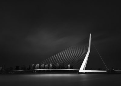 Visual Acoustics VII - Silence and Light - Erasmus Bridge