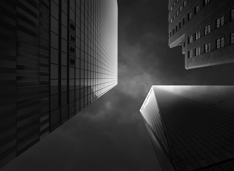 WTC One after using luminosity masks