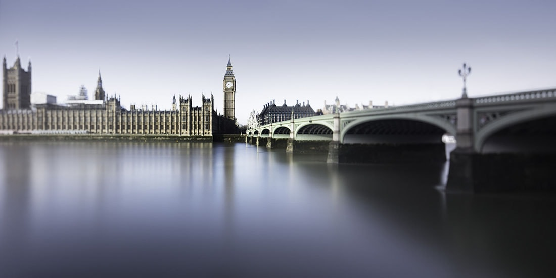Westminster Palace And Big Ben Long Exposure London