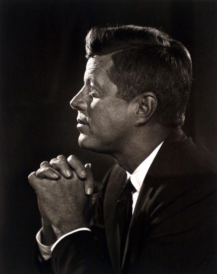Yousuf Karsh John F Kennedy
