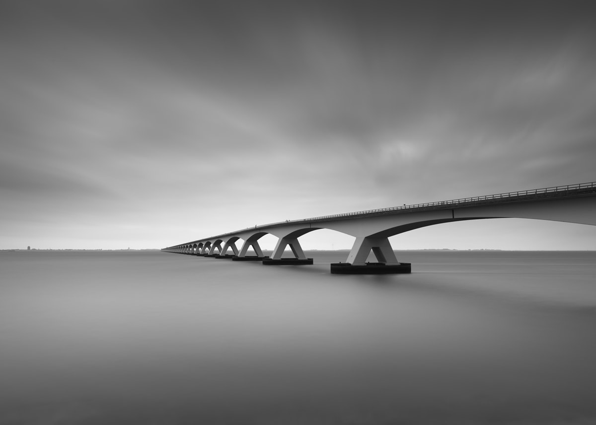 Zeeland Bridge 2017 Shot With The Phase One IQ3 Achromatic