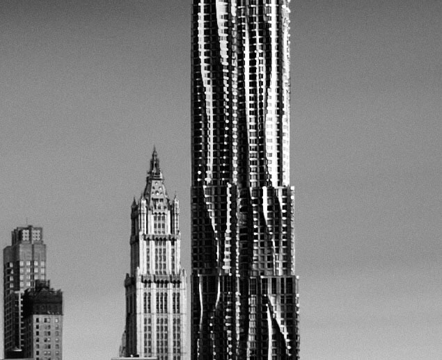 frank gehry building new york