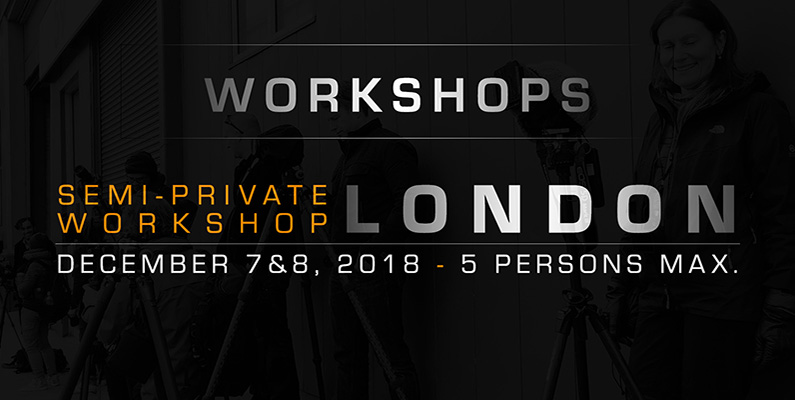 Semi-private London workshop 2018