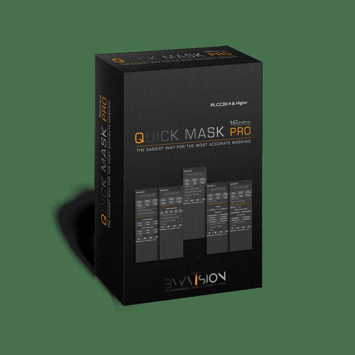 Quick mask pro panel for photoshop masking software